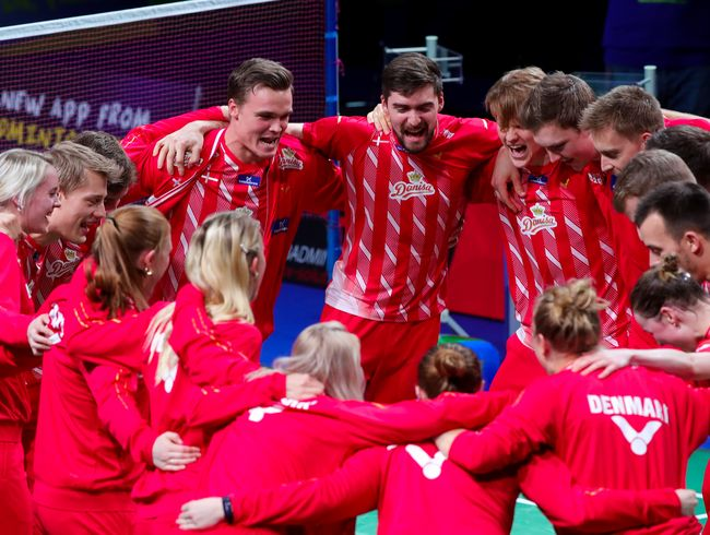DANES KEEP DOMINANCE─EUROPEAN CHAMPION AGAIN