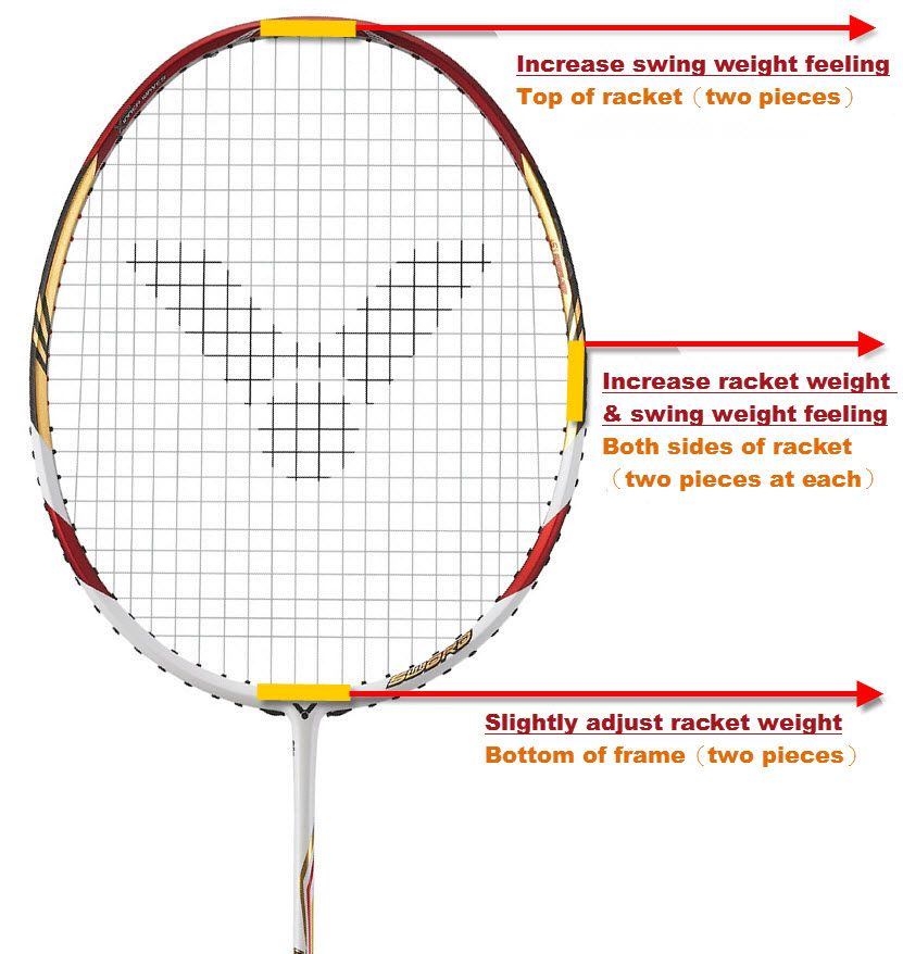badminton racket Powerizer